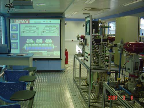 Unidade móvel - Automação Industrial
