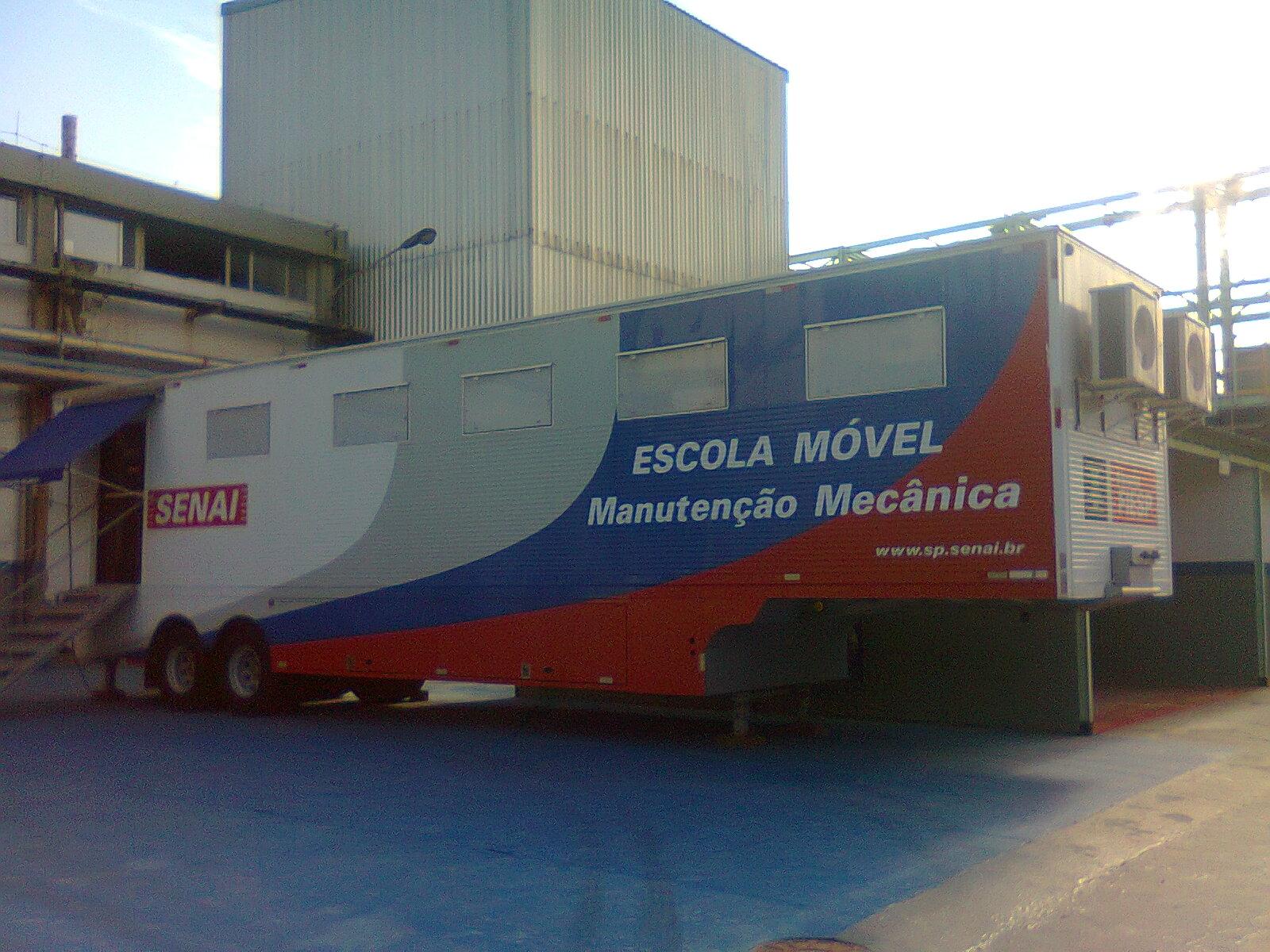 Unidade móvel - Manutenção mecânica